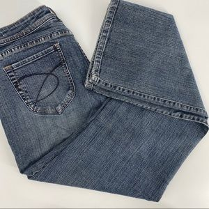 Chico's Platinum marquis bootcut jeans